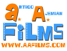 New AAFILMS logo designed by Kaz Gamble