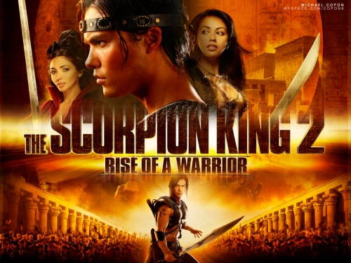 Michael Copon is a warrior! Watch him rise in The Scorpion King 2!!