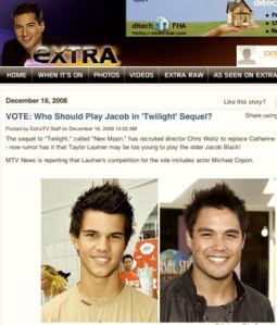 Should Michael Copon play Jacob?