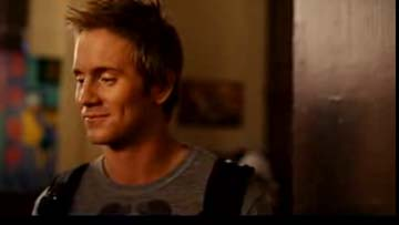Robert Hoffman looking cute in the STEP UP2 trailer.