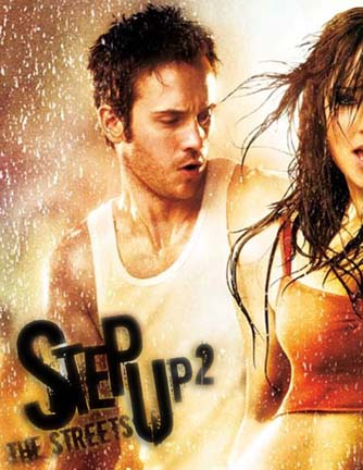 ROBERT HOFFMAN GETS WET IN STEP UP 2.