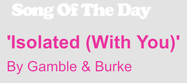 song of day gamble and burke popjustice